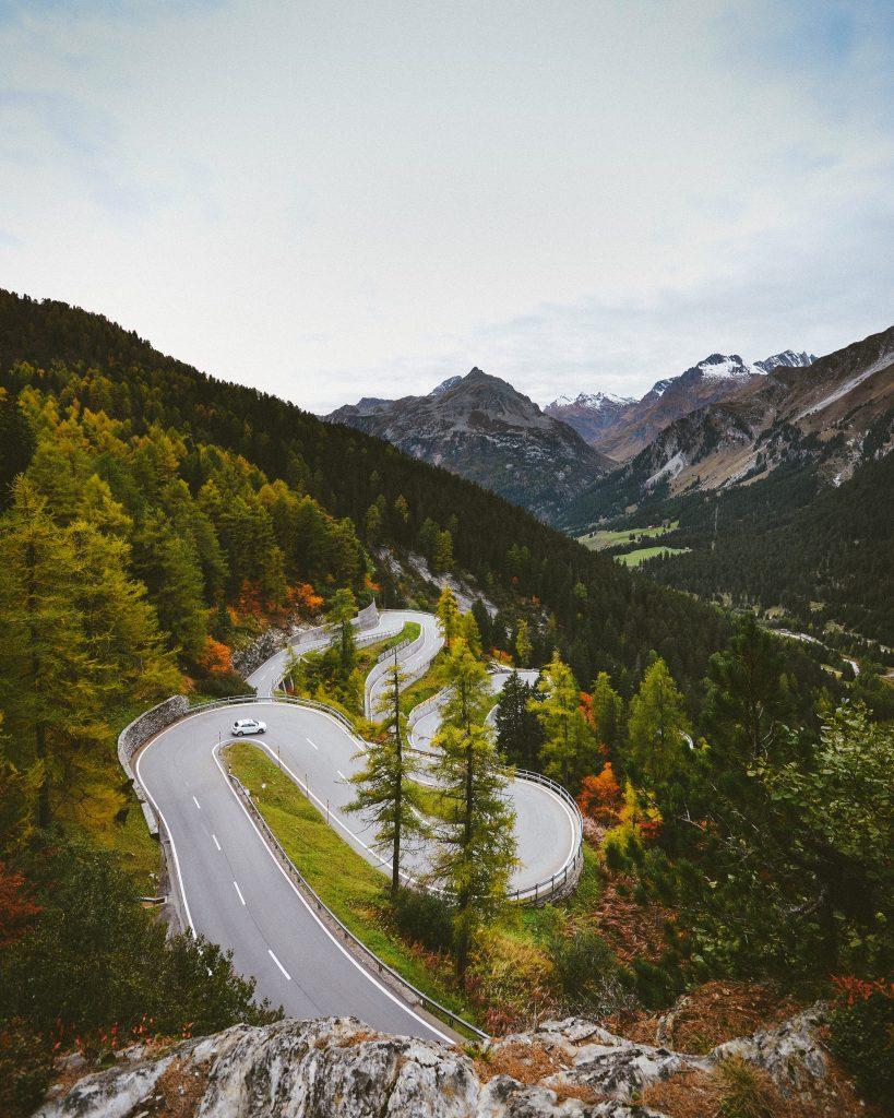 Wczasy w Szwajcarii.